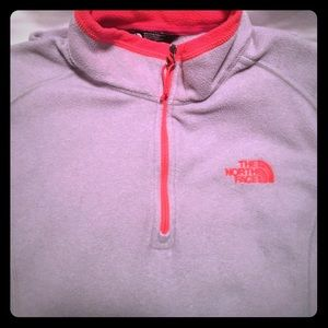 """NORTH FACE"" women's fleece pullover Size M"